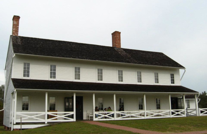 Exterior view of The Villas of Hatteras Landing.