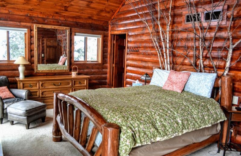 Rental bedroom at Lakeland Rental Management.