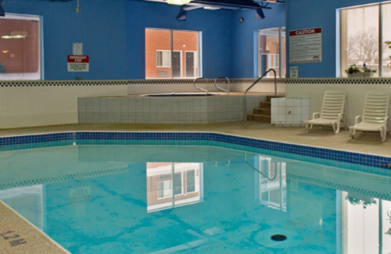 Indoor Pool at the Imperial Hotel & Suites