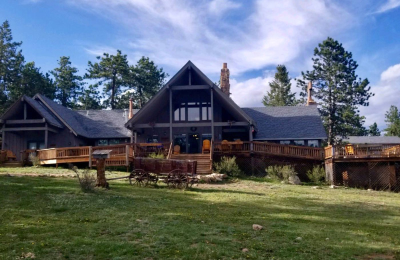 Exterior view of Sundance Trail Guest Ranch.