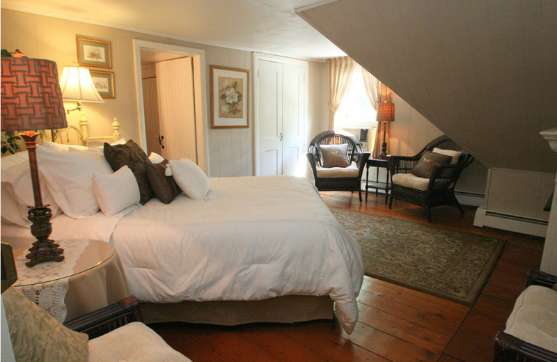 Guest room at Pineapple Hill.