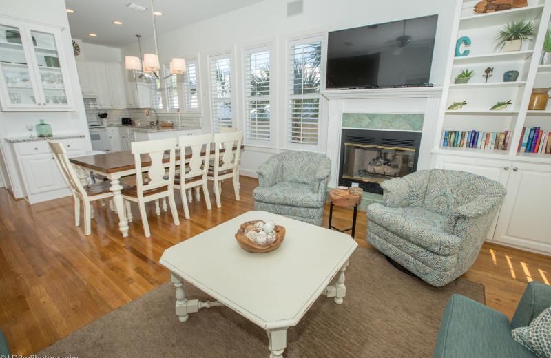 Rental interior at Holiday Isle Properties, Inc.