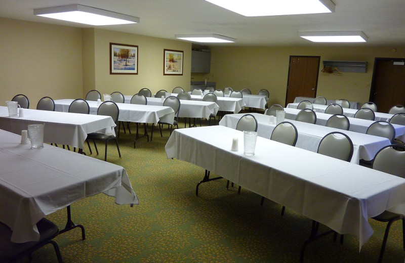 Meeting room at Jorgenson's Inn