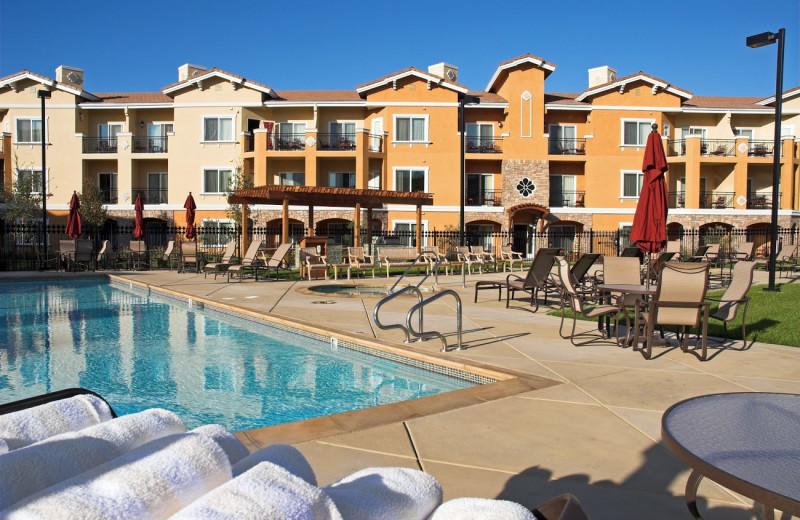 Outdoor pool at Vino Bello Resort.