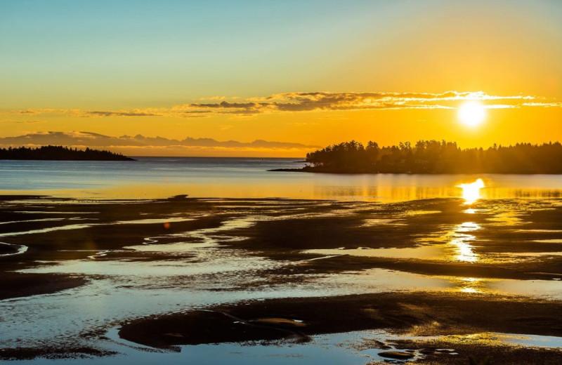 Sunrise at Ocean Trails Resort.
