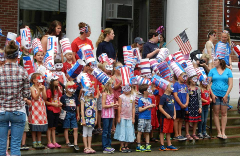 4th of July celebrations at Chautauqua Institution.