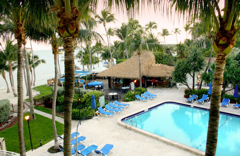 Outdoor pool at Hampton Inn & Suites Islamorada.