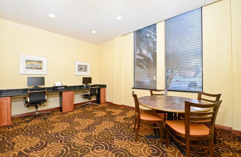 Business center at Daytona Beach Shores Hotel.