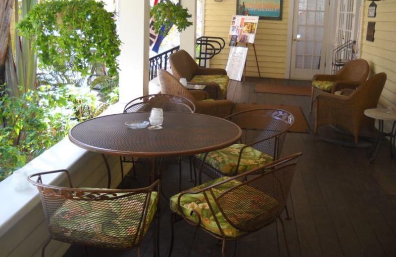 Porch view at Peninsula Inn & Spa Inc.