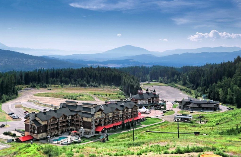 Exterior view of Northstar Mountain Village Resort.