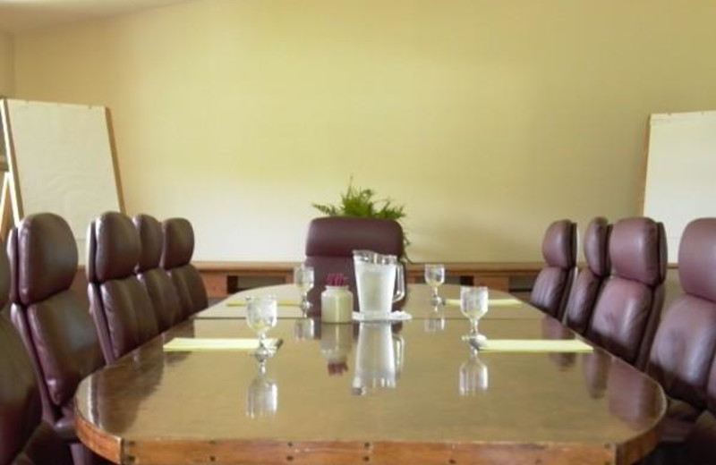 Meeting room at The Inn at Willow Pond.