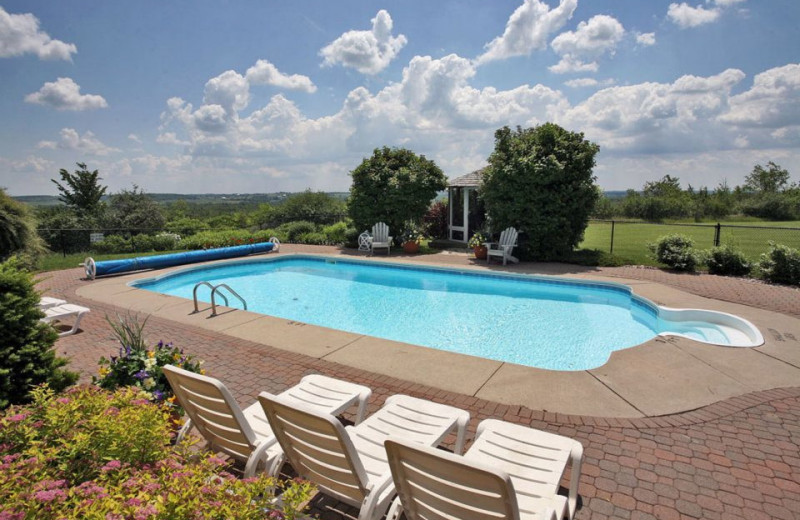 Outdoor Pool at High Fields Country Inn and Spa
