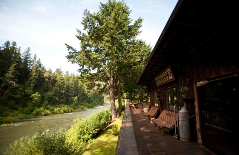 Exterior view of Half Moon Bar Lodge.