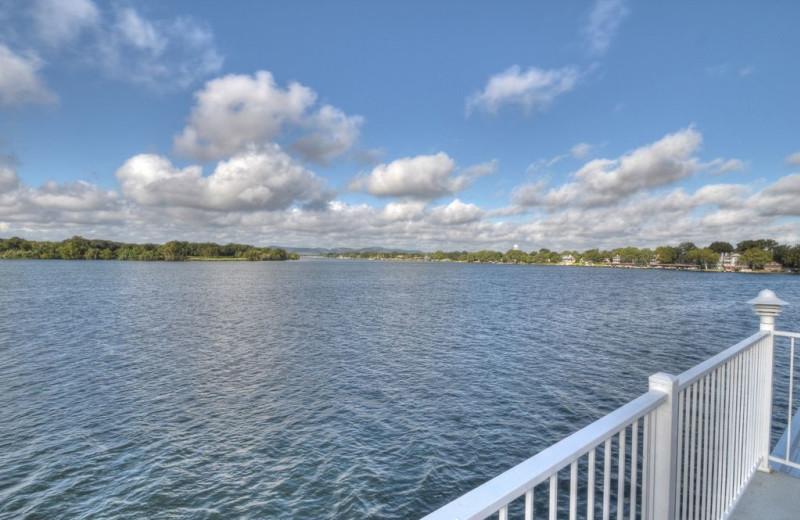 Lake at Lake Haus.