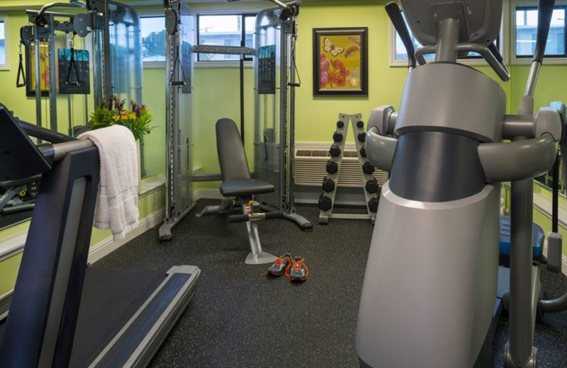 Fitness Center at Millwood Inn & Suites