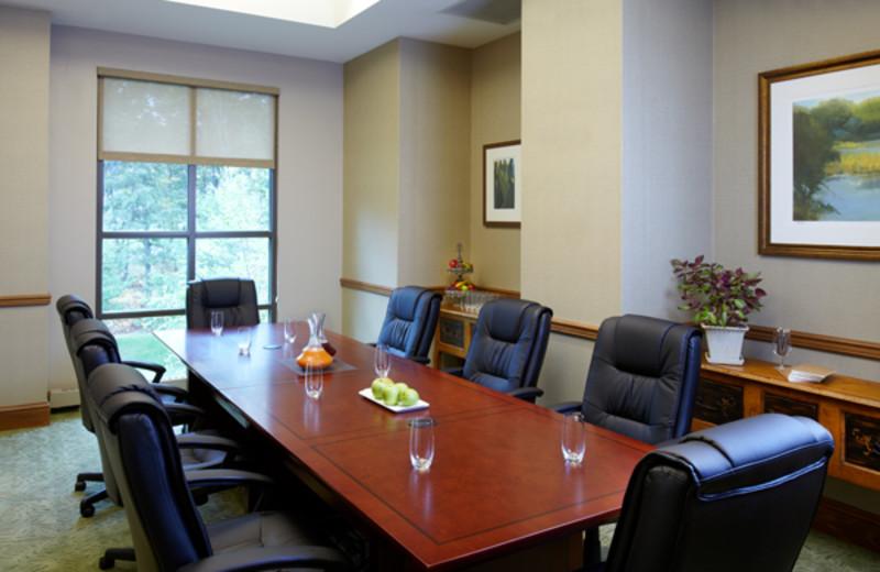 Board room at The Lodge at Woodloch.