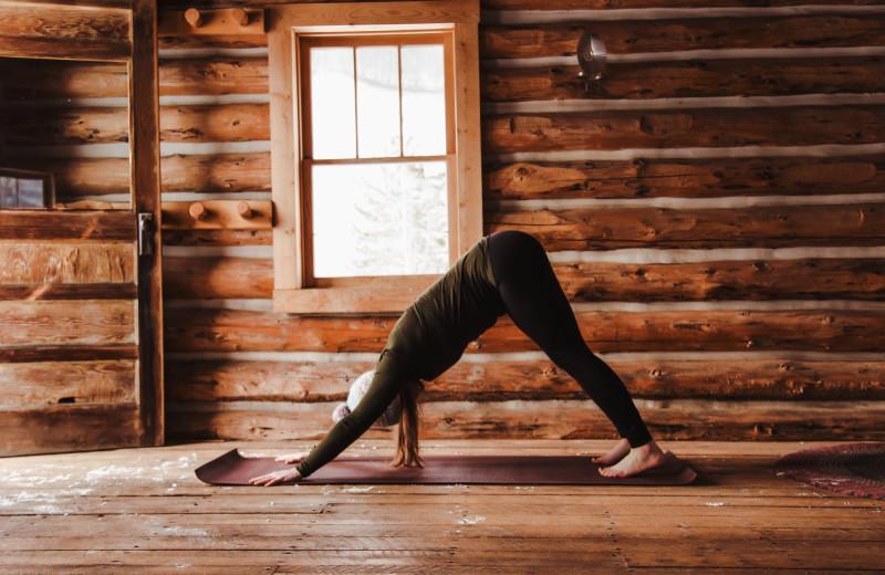 Yoga at Vista Verde Ranch.