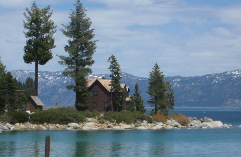 Exterior view of Meeks Bay Resort