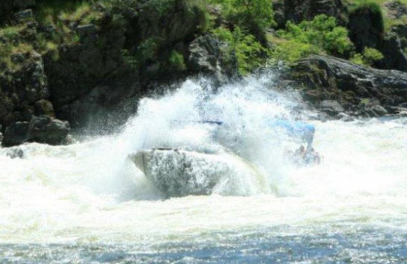 Crashing Waves near Hells Canyon Jet Boat Trips