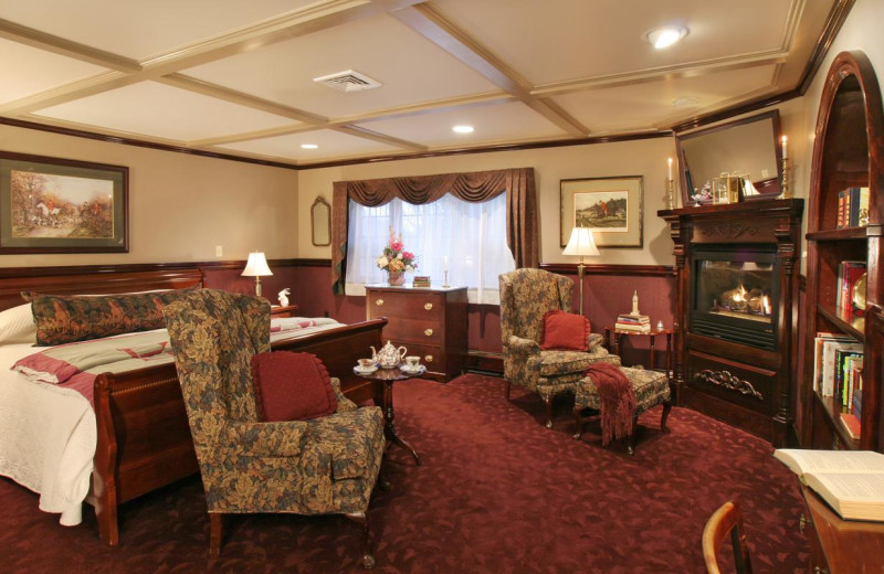 Guest room at Rabbit Hill Inn.