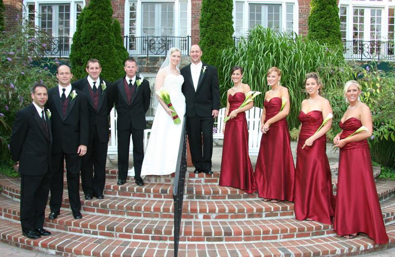 Wedding at The Spa at Norwich Inn.