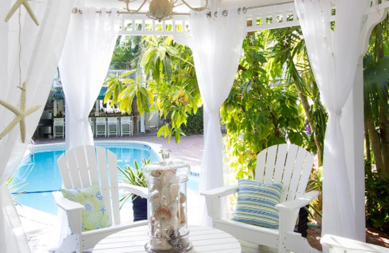Cabana Area at The Gardens Hotel