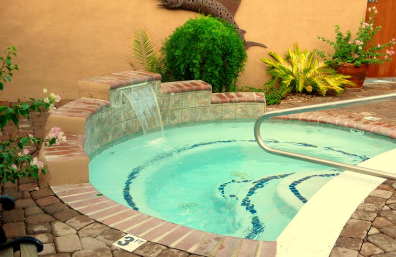 Hot tub at Rancho Sonora Inn & Rv Park.