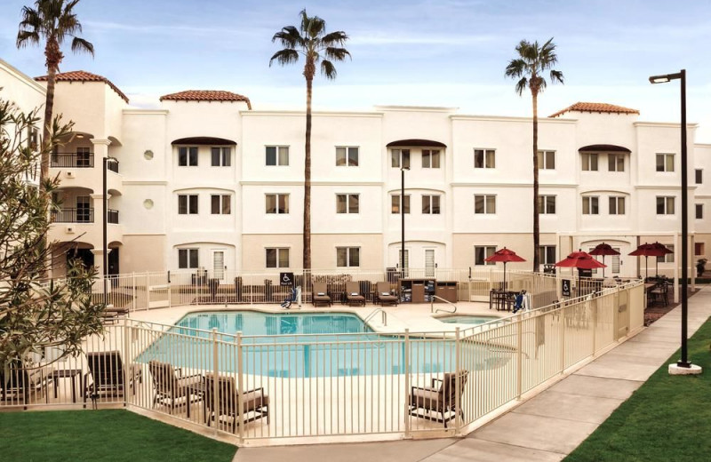 Outdoor pool at Homewood Suites by Hilton Tucson/St. Philip's Plaza University.