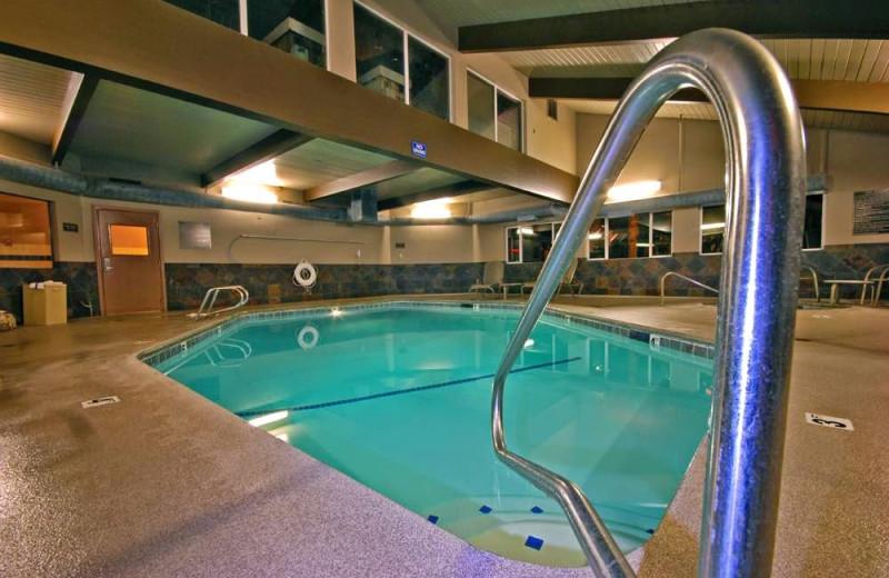 Indoor pool at Shilo Inn Hazel Dell.