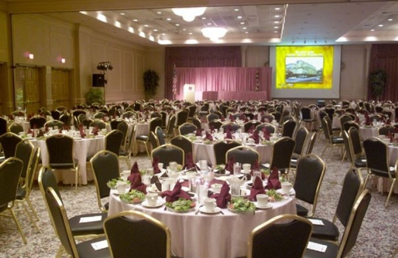 Crystal Ballroom at Clarion Resort Fontainebleau Hotel.
