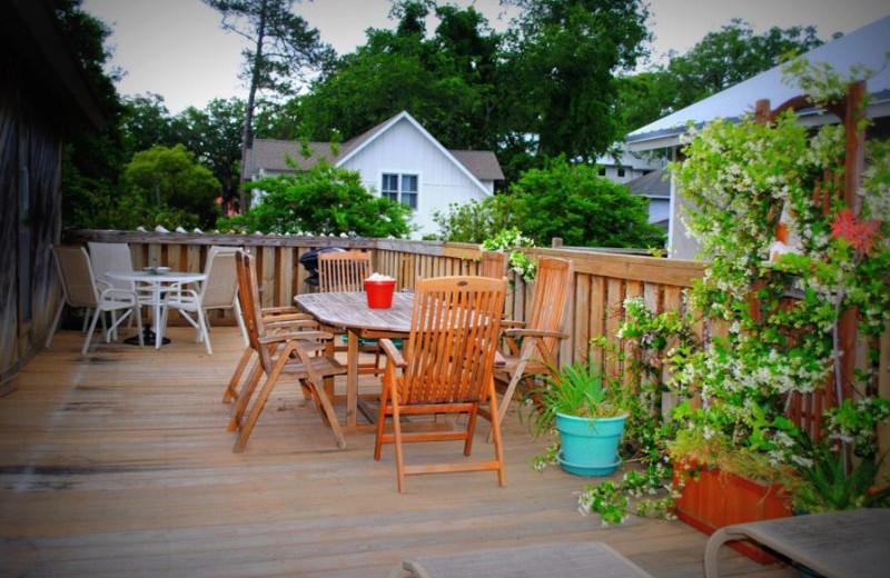 Rental patio at SSI Fun.