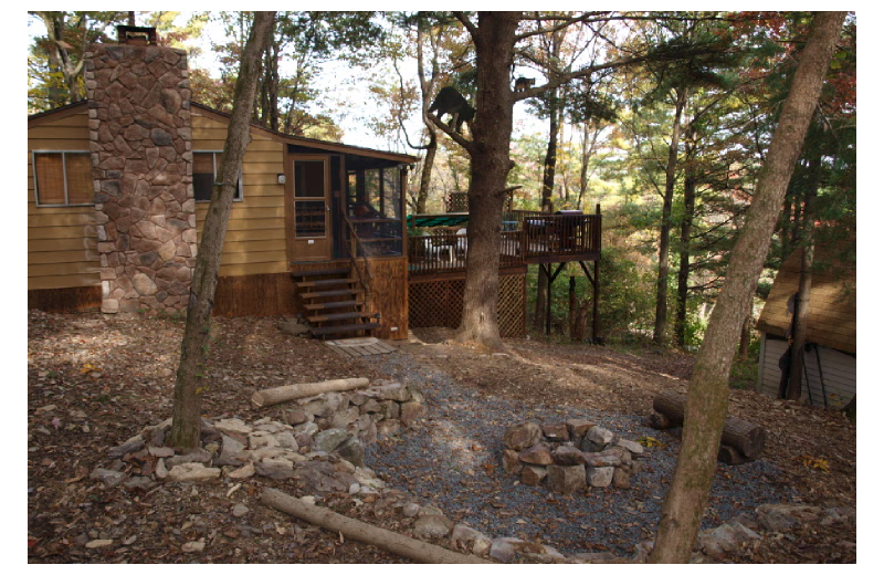 Rental exterior at Cabins-4-Rent.