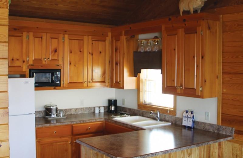 Cottage kitchen at Smithfield Station.
