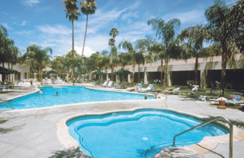 Outdoor pool at Worldmark At Palm Springs.