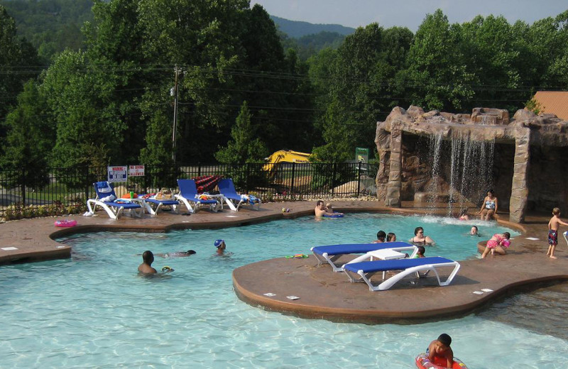Outdoor pool at White Oak Lodge & Resort.