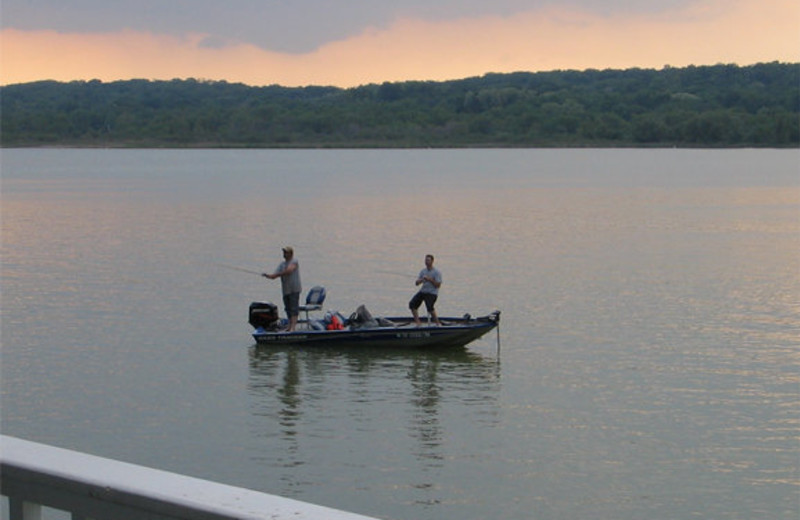 Fishing at the French Country Inn on the Lake