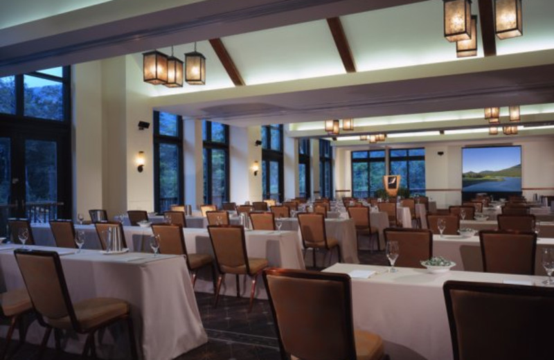 Conference room at Stowe Mountain Lodge.