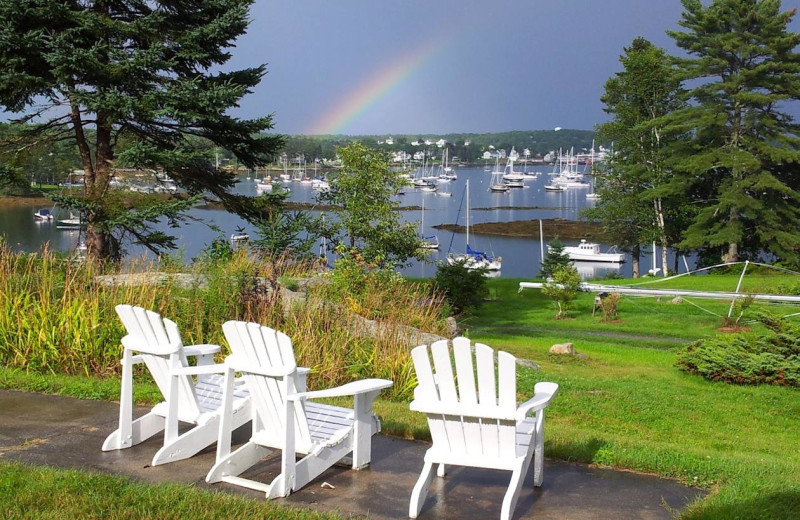 View from Harborfields Waterfront Vacation Cottages.