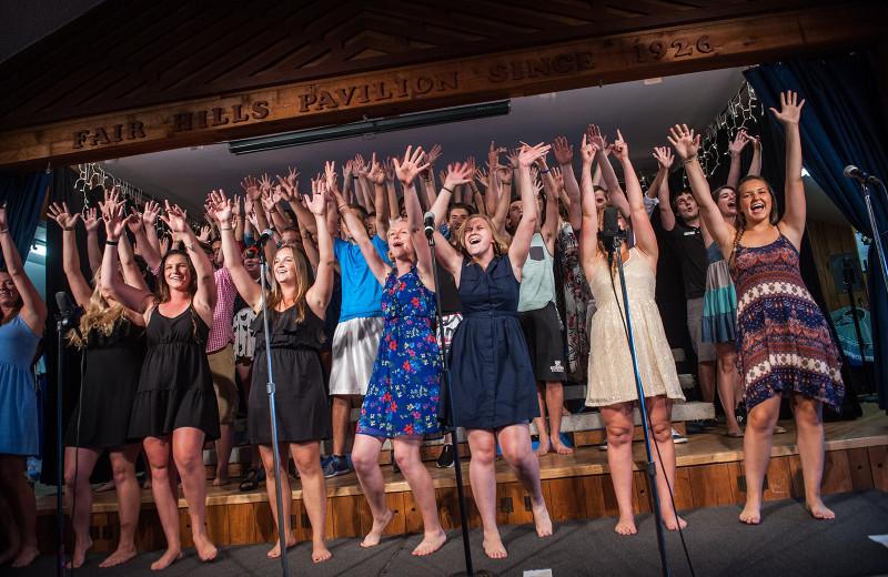 Concerts at Fair Hills Resort.