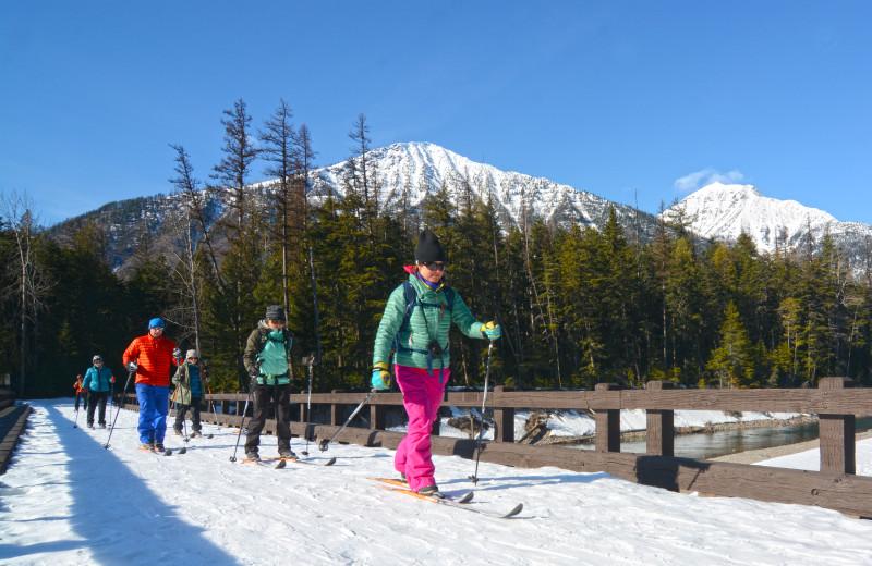 Ski at The Lodge at Whitefish Lake.