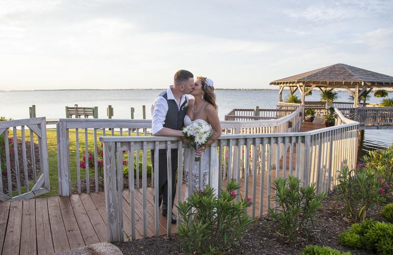 Wedding at Oasis Suites.