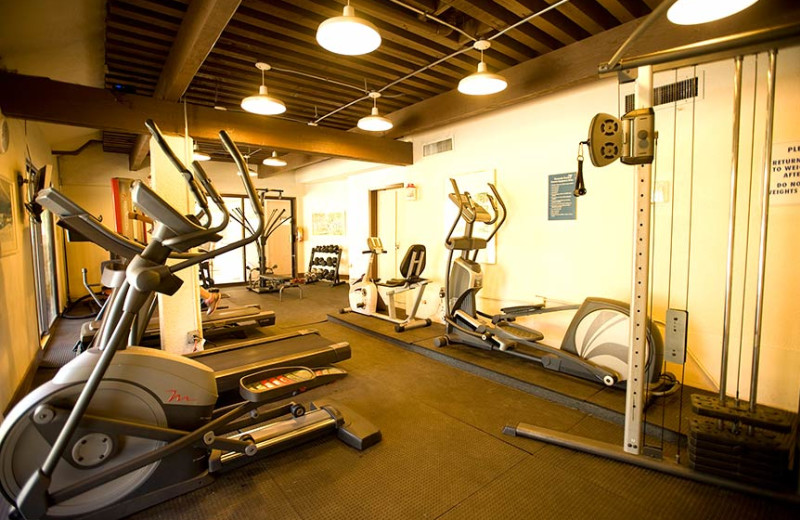 Fitness room at Kamole Sands.