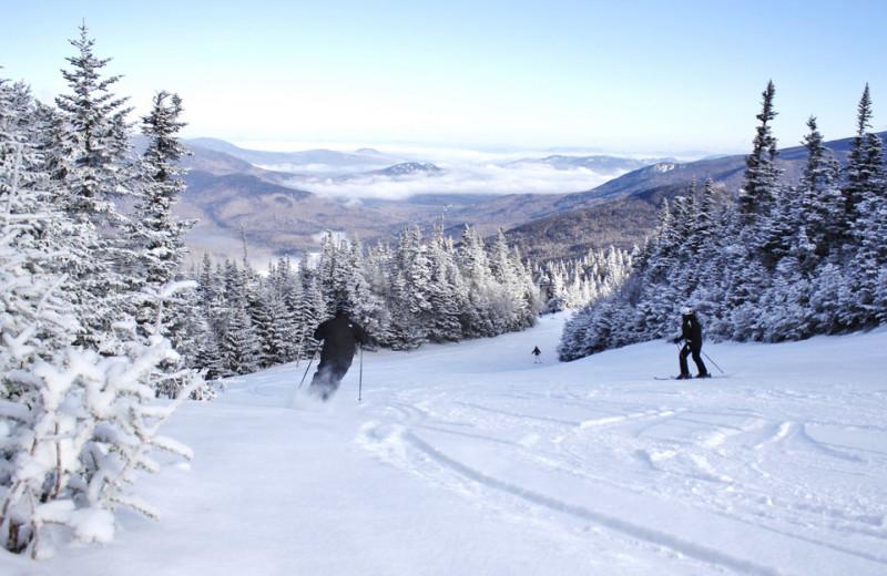 Skiing at The Seasons Resort.