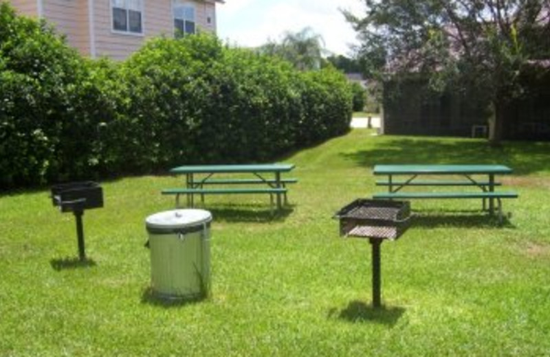 Grilling Area at Villages At Mango Key