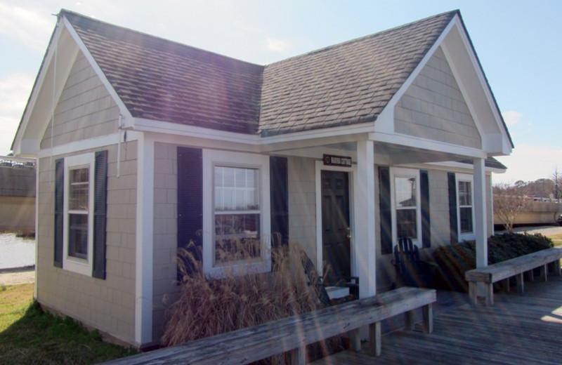 Cottage exterior at Smithfield Station.