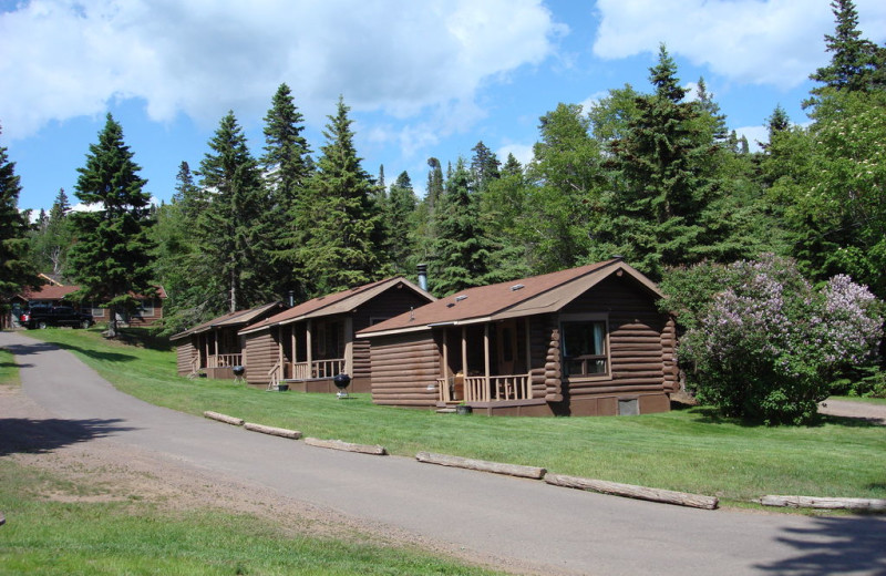 Cabins at Cascade Lodge.