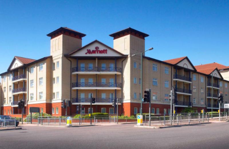 Exterior view of Bexleyheath Marriott Hotel.