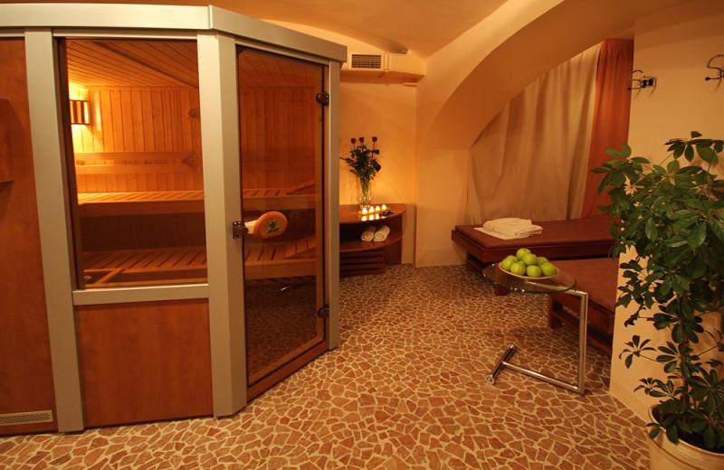Sauna at Hotel Ametyst.