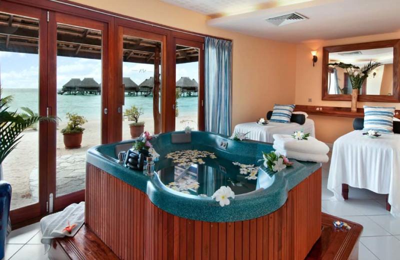 Spa at Sheraton Moorea Lagoon Resort & Spa.