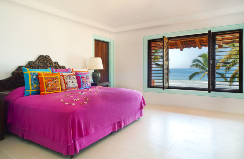 Guest room at Las Alamandas.